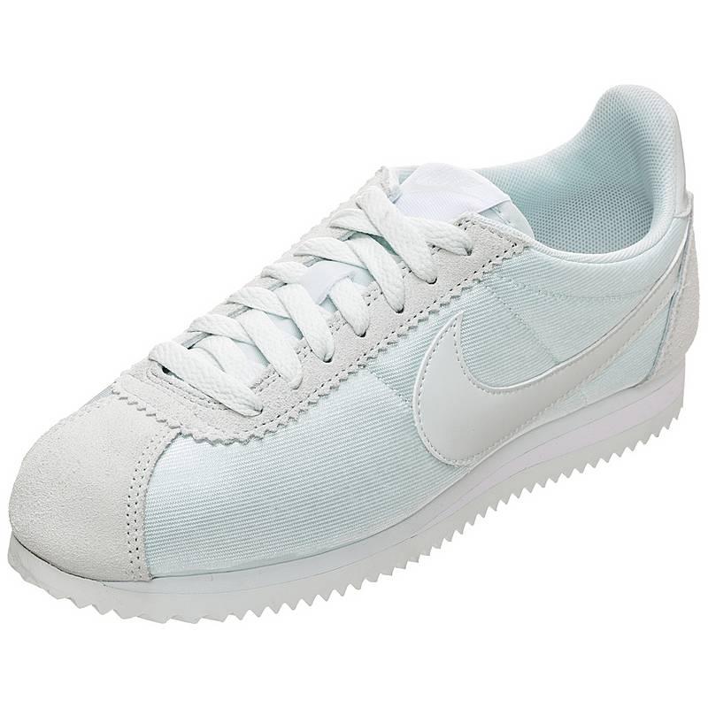 Nike Classic Cortez Nylon Sneaker Damen hellblau   grau im Online ... 01dc12391d