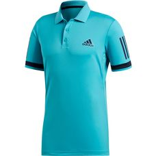 adidas CLUB 3STR POLO Tennis Polo Herren hi-res aqua
