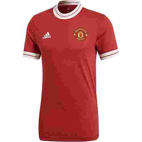 adidas Manchester United Icon Fußballtrikot Herren REARED/BLACK
