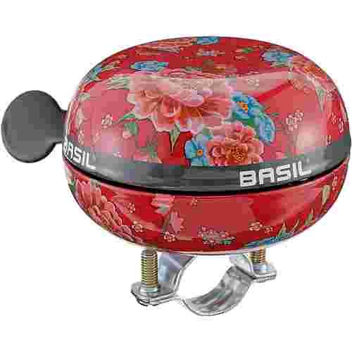Basil Big Bell Bloom Fahrradklingel scarlet red