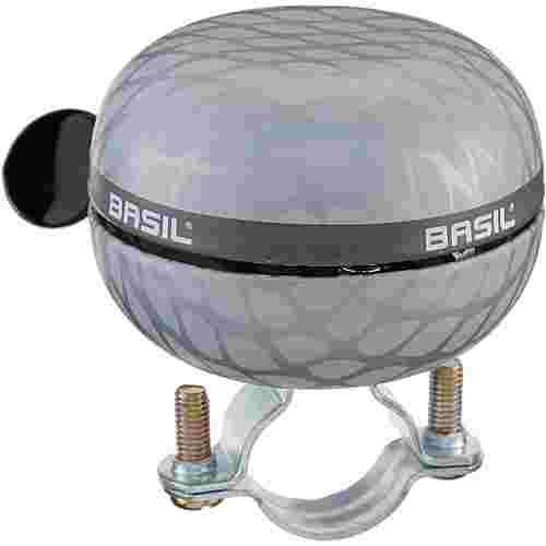 Basil BASIL NOIR BELL DING-DONG Fahrradklingel silver metallic
