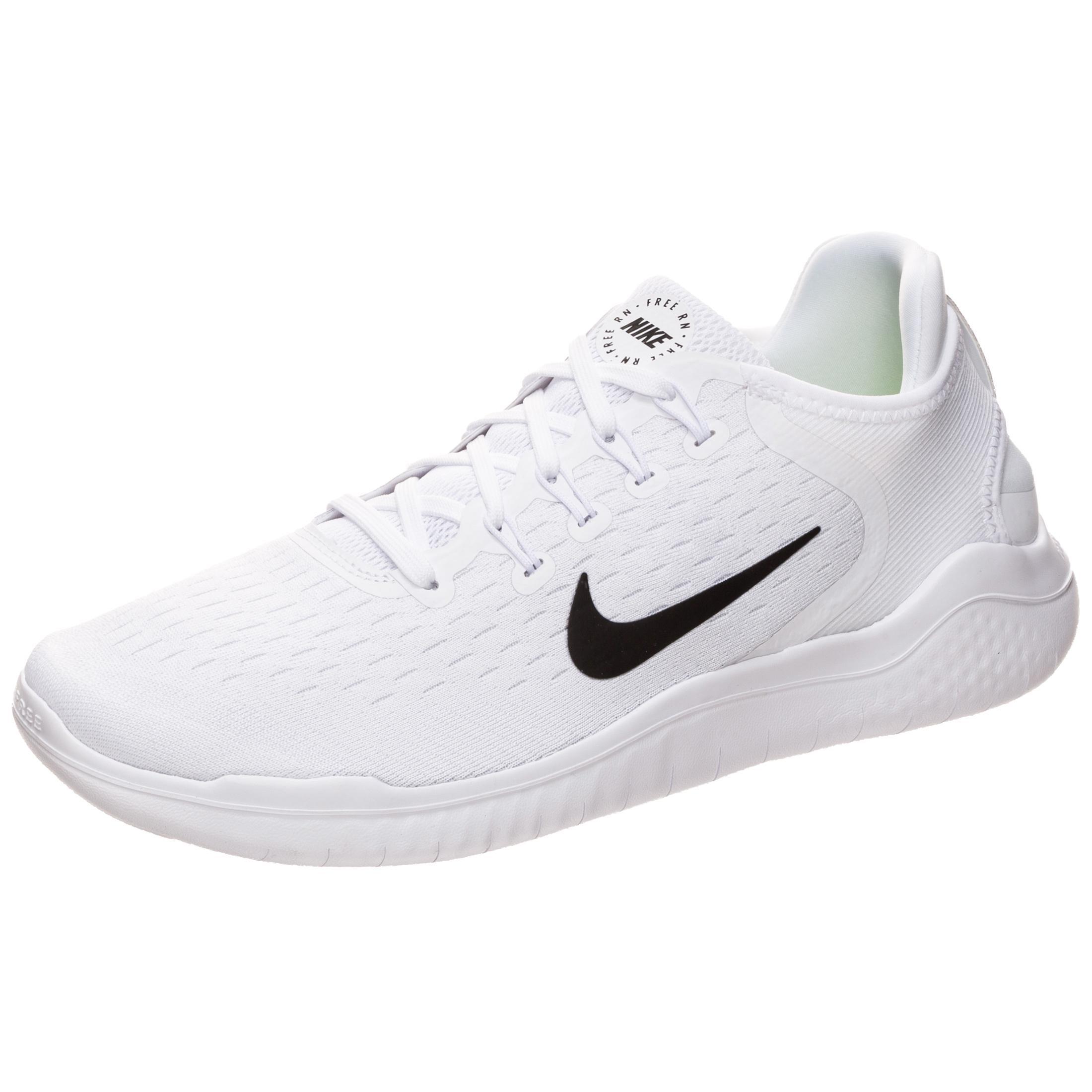 Nike Free RN 2018 Laufschuhe Herren weiß / schwarz im Online Shop von  SportScheck kaufen