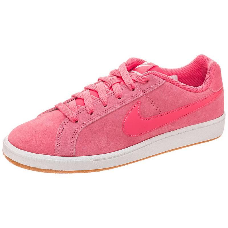 online store 28feb 63eaa NikeCourt Royale Suede SneakerDamen rosa   braun   weiß