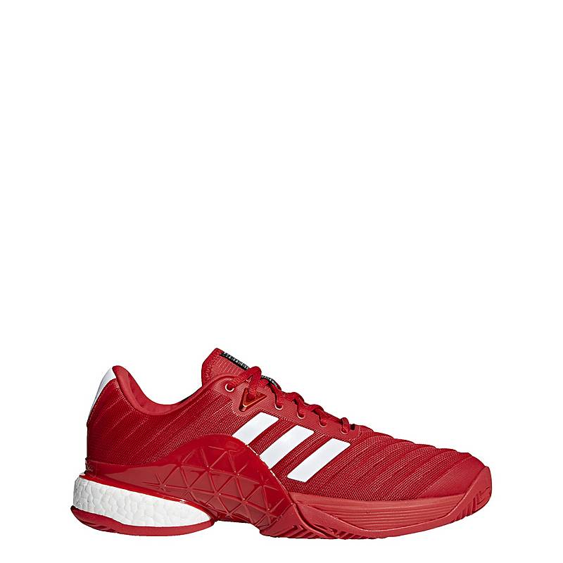 adidasBarricade '18 Boost Schuh  MultifunktionsschuheHerren  Scarlet/Ftwr White/Scarlet