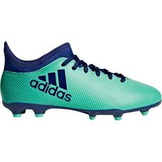 adidas X 17.3 FG J Fußballschuhe Kinder aero green