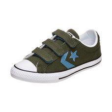 CONVERSE Star Player 3V Sneaker Kinder oliv / blau / weiß