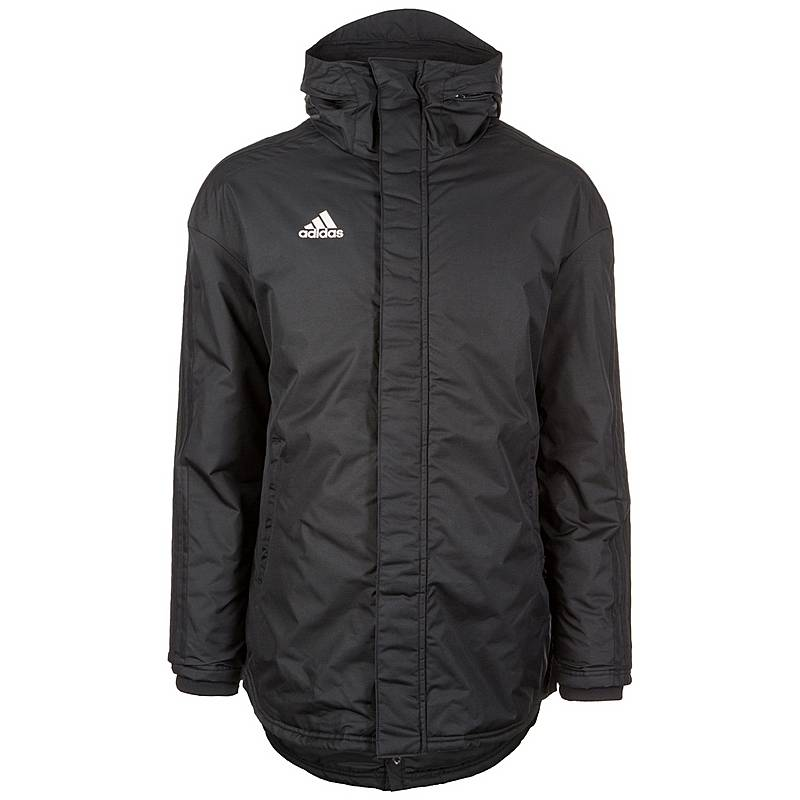 Adidas Parka 18 Winterjacke Herren schwarz   weiß im Online Shop von ... deb53517cc
