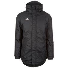 adidas Parka 18 Winterjacke Herren schwarz / weiß