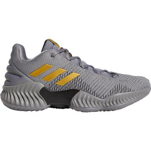 adidas Pro Bounce 2018 Low Basketballschuhe Herren grey three