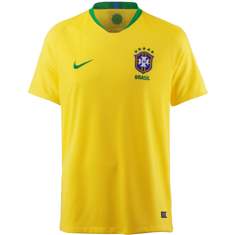 Nike Brasilien 2018 Heim Fußballtrikot Herren