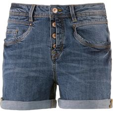 TOM TAILOR Jeansshorts Damen mid-stone-wash-denim