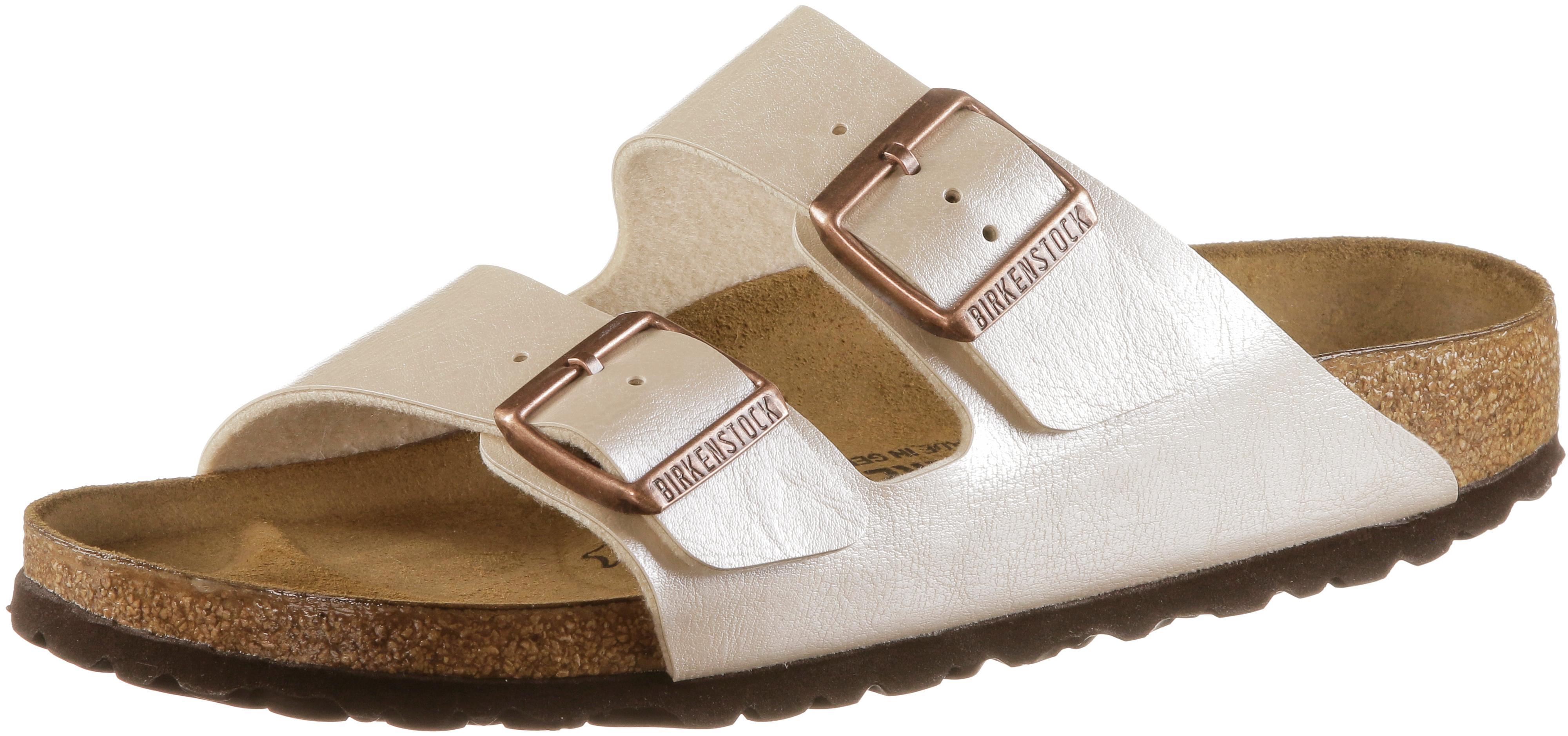 0addcf467c Birkenstock ARIZONA Sandalen Damen graceful pearl white im Online Shop von  SportScheck kaufen