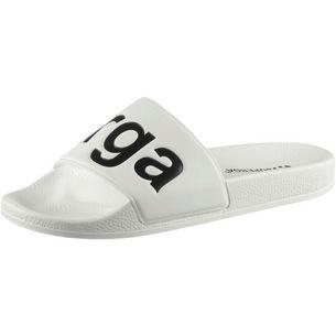 Superga Slides Sandalen Damen white-black