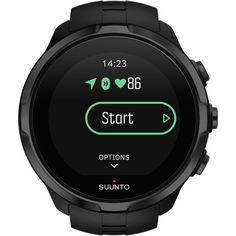 Suunto Spartan Sport Multifunktionsuhr all black