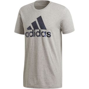 adidas BOS Foil T-Shirt Herren medium-grey-heather