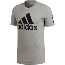 adidas SID Logo T-Shirt Herren medium-grey-heather