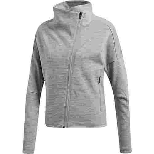 adidas Heartracer Sweatjacke Damen mgh solid grey
