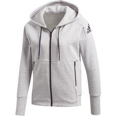 adidas ID Stadium Sweatjacke Damen stadium heather-medium grey heather