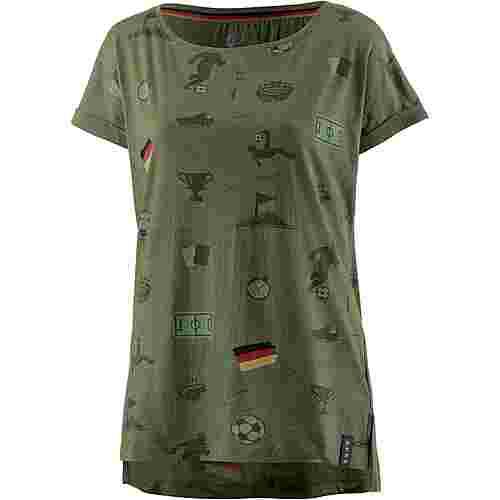 unifit Deutschland 2018 T-Shirt Damen grün