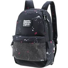 Superdry Daypack Damen black splatter-sparkle