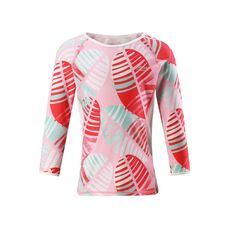 reima Costa UV-Shirt Kinder Bright red