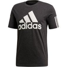 adidas M SID LOGO T-Shirt Herren black melange