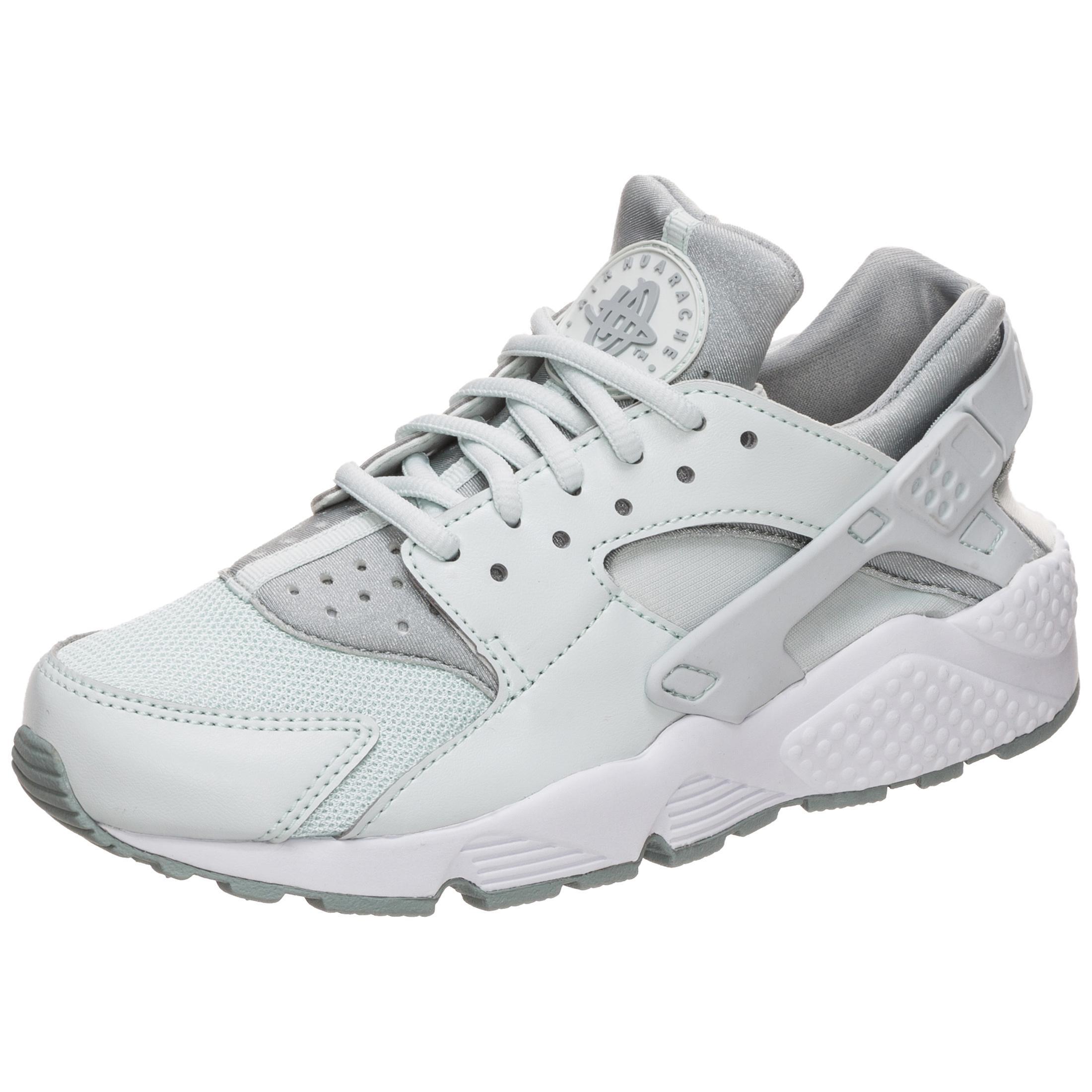 Nike Air Huarache Run Sneaker Damen grau / weiß im Online Shop von ...