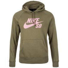 Nike Icon Hoodie Herren oliv / rosa