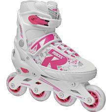 ROCES Jockey 2.0 Fitness Skates Kinder white-pink