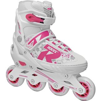 ROCES Jokey 2.0 Fitness Skates Kinder white-pink