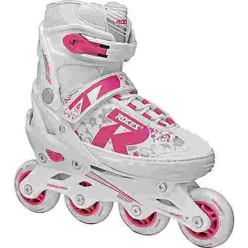 ROCES Jokey 2.0 Fitness Skates Kinder white-pink