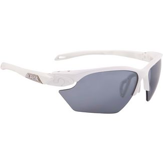 ALPINA TWIST FIVE HR S Sportbrille white matt