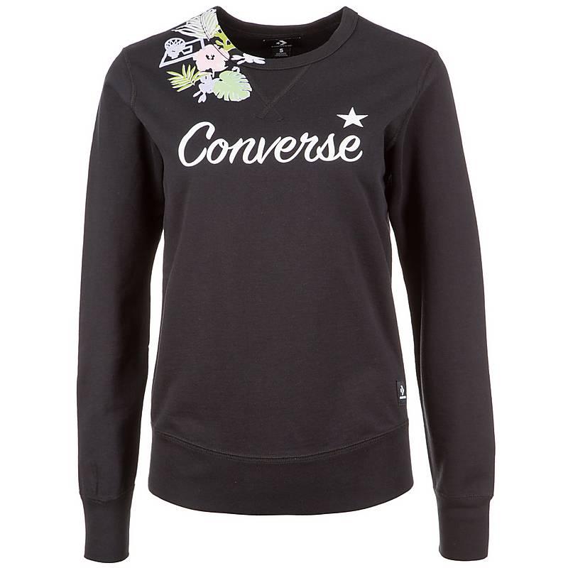converse hoodie damen schwarz