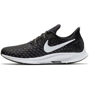 Nike Air Zoom Pegasus 35 Laufschuhe Damen black-white-gunsmoke-oil-grey