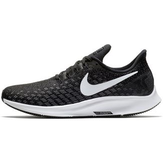 Nike Air Zoom Pegasus 35 Laufschuhe Damen black-white-gunsmoke-oil-grey