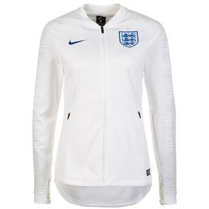Nike England Anthem WM 2018 Trainingsjacke Damen weiß / dunkelblau