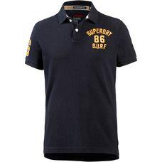Superdry Poloshirt Herren techno navy marl