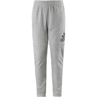 adidas Sweathose Kinder medium grey heather-black