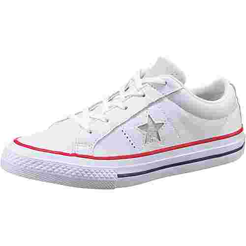 CONVERSE Sneaker Kinder white-gym red-white