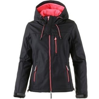 Superdry Kapuzenjacke Damen black-coral blush