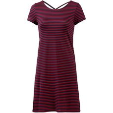 Only Jerseykleid Damen night sky-thin red stripes