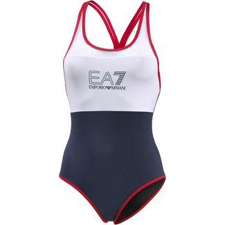 EA7 Emporio Armani Sea World Badeanzug Damen navy blue