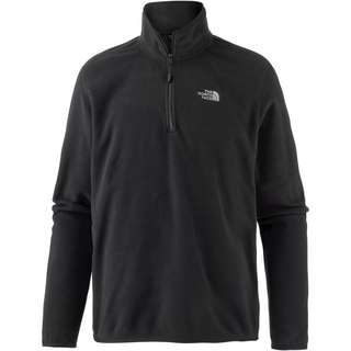 The North Face 100 Glacier Fleecepullover Herren schwarz