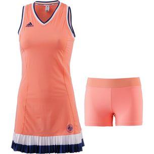 adidas French Open Tenniskleid Damen chalk coral
