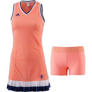 adidas French Open Tenniskleid Damen chalk coral