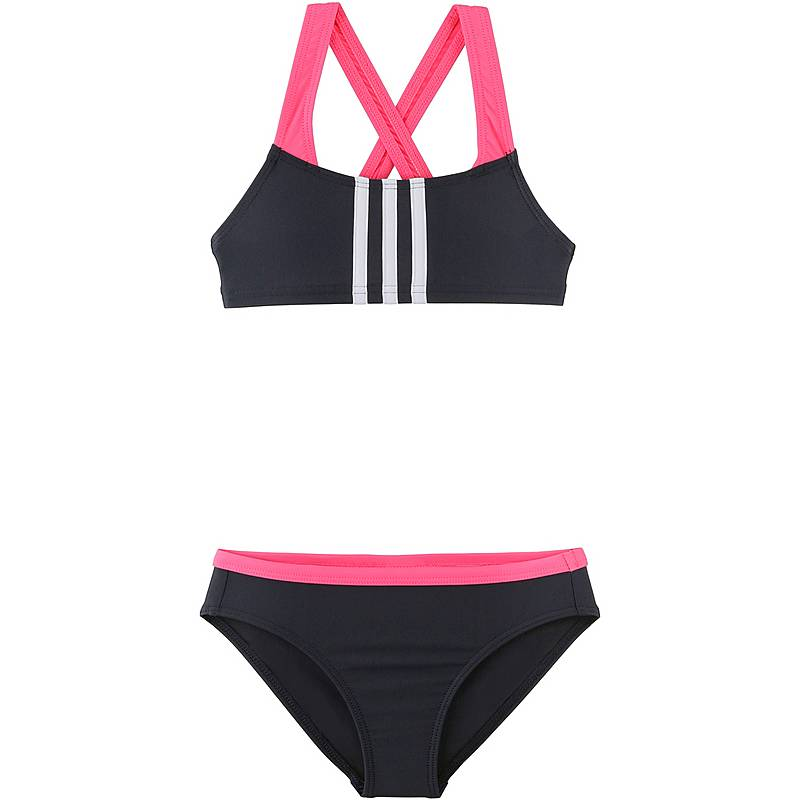 5a38c2bacda0 Adidas Bikini Set Mädchen black-real pink im Online Shop von ...