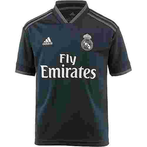 adidas Real Madrid 18/19 Auswärts Fußballtrikot Kinder tech onix