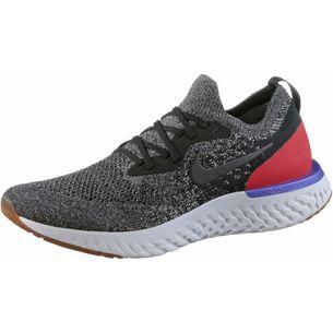 Nike EPIC REACT FLYKNIT Laufschuhe Herren black-black-white-red-orbit-twilight-pulse-pure-platinum