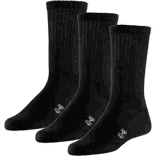 unifit 3er Pack Socken Pack schwarz