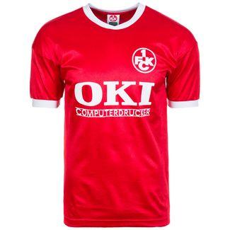 Scoredraw 1. FC Kaiserslautern 90/91 Heim Fußballtrikot Herren rot / weiß
